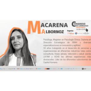 Congreso de Liderazgo 2021 – Módulo 6 – Macarena Albornoz